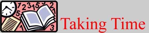 Taking Time logo.