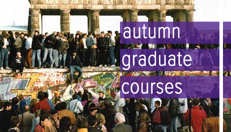 Autumn 2019 Graduate Courses