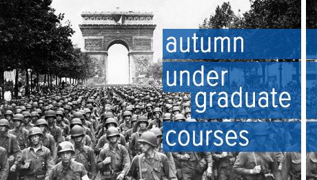 Autumn 2019 Undergraduate Courses